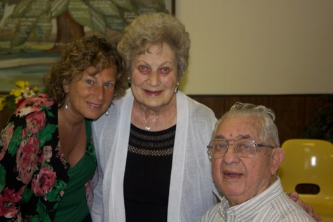 Debbie, Marlene and Cy